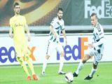 Konyasporun Avrupadaki son maçı
