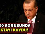 Cumhurbaşkanı Erdoğan S-400 konusuna noktayı koydu
