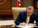 Erdoğandan iki üniversiteye rektör ataması